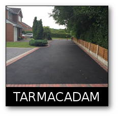 Tarmacadam drive  GD Paving and Sons Flint.