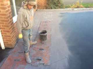GD Paving - another impressive driveway being built.